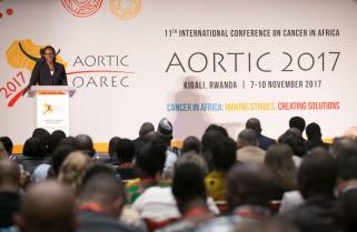 Mrs Kagame Advocates for Cancer Awareness