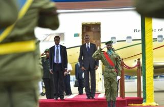 President Edgar Lungu Arrives in Rwanda for Official Visit