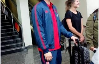 Arsenal's David Luiz Arrives in Rwanda