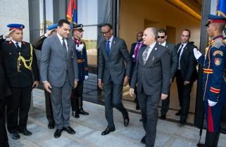 President Kagame in Egypt for 'Africa 2018 Forum'