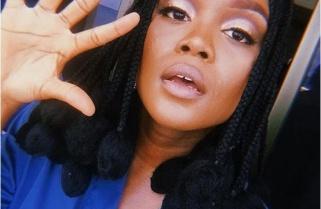 Nigerian Diva Falana On The Way To Kigali