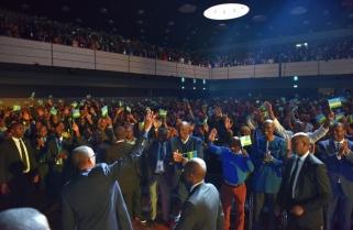Pomp, Fanfare as President Paul Kagame Arrives in Bonn for Rwanda Day