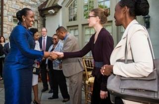 Rwanda's First Lady Links Motherhood to Leadership