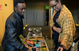 First Lady Jeannette Kagame Demands Humility From Local Artists