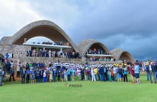 Kagame Inaugurates Gahanga Cricket Oval