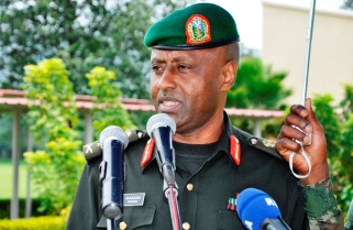 Maj Gen. Kazura Promoted to General, Appointed RDF Chief of Defence Staff