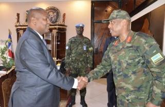 Rwanda Army Chief Concludes CAR Visit