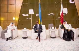 President Paul Kagame in Qatar for Information Technology Conf, Exhibition