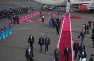 India PM Modi Lands in Rwanda for 2-day State Visit