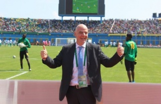 FIFA President Infantino Arrives in Kigali Ahead of the FIFA Council Meeting
