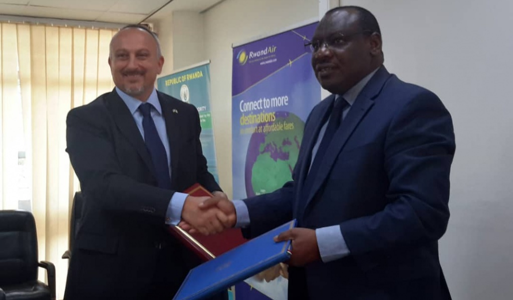Rwanda, Italy Sign Air Service Agreement