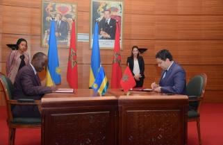 Rwanda, Morocco Sign 12 Cooperation Agreements