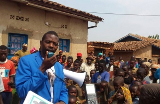 Candidate Mpayimana Promises Proper Water Management