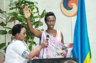 Marie Chantal Rwakazina Elected Kigali City Mayor