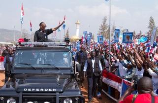 RPF Candidate meets voters in Nyamirambo