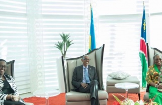Kagame in Namibia for a Three Day State Visit