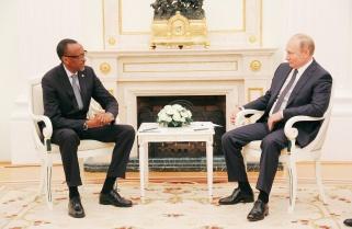 President Kagame Meets Russia's Vladimir Putin