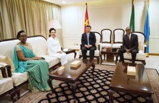 President Xi Jinping in Rwanda