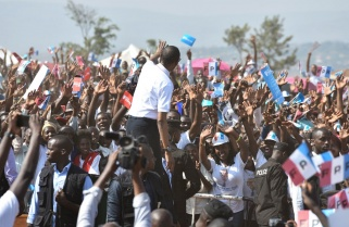 RPF Candidate Paul Kagame Rally in Kicukiro District / 19th July 2017