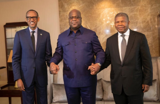 Kagame, DRC's Tshisekedi, Angola President Meet to Restore Peace in the Region