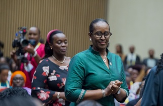 """""""Be in the Driver's Seat of Your Own Lives"""" – Mrs Kagame to Young Girls"""