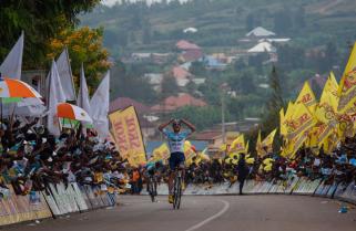 Tour du Rwanda (2.1): Perfect Birthday Gift for Polish Kasperkiewicz as he Wins Stage 6