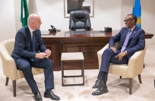 President Kagame Hosts FIFA Boss Infantino