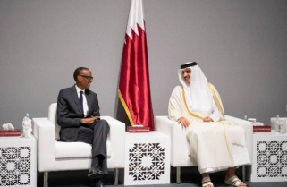 Kagame Attends the Qatar Information Technology Conf, Exhibition