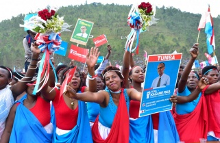 RPF Candidate Paul Kagame Rally in Rulindo District / 20th July 2017