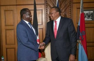Raila, Uhuru Shake-off Tribal Differences