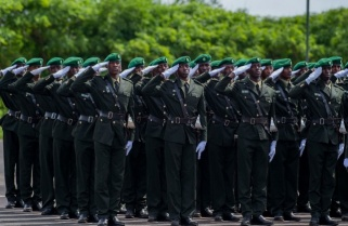 Watch RDF Colourful Parade As 320 Officer Cadets Pass Out