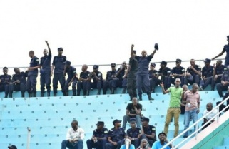 FIFA President Present as Police FC and Rayon Equalise