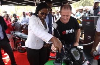 New Electric Motorcycle Hits Rwandan Roads Next Month