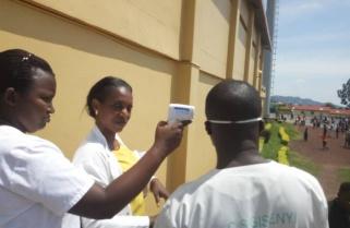 Rwanda Conducts Ebola Screening on DRC Football Fans