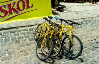 Skol's Bicycles excite Tour du Rwanda Fans