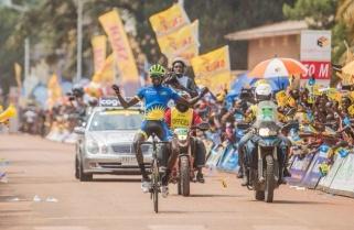Tour du Rwanda: Rwanda's Mugisha wins stage two, takes yellow jersey