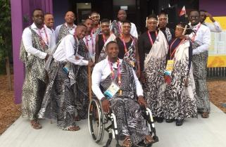 Nyirarukundo Leads out Team Rwanda at 2018 Commonwealth Games