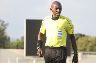 Top Ref Hakizimana Picked for 2019 Total AFCON Preps