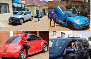 Rwandan Celebrities and the Cars They Drive