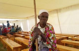 Woman 85, Graduates Under Adult Literacy Program