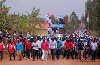 Gicumbi RPF Supporters Praise Kagame