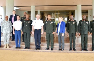US, Rwanda Military chiefs for 'political solution' in South Sudan