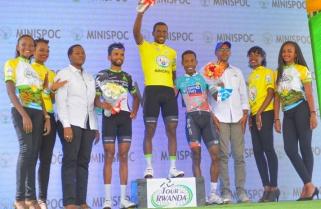 Joseph Areruya Ranked Africa's Best Rider