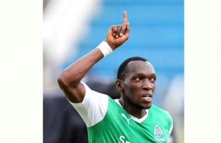 Amavubi Forward Kagere named Footballer of the Year