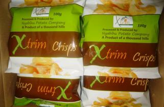 Stylish Made in Rwanda Potato Chips Storm the Market