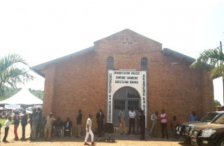 """After 1994, """"Tutsi and Hutu Sat Separately"""" in a Kigali Church"""