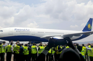 RwandAir's Airbus 330-200 Finally Lands in Kigali