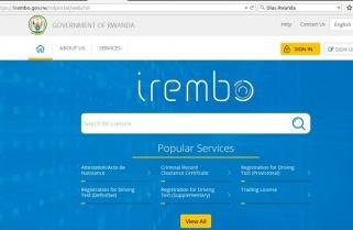 Traffic Police Begins Offering Irembo Platform