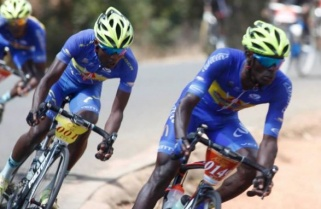Kenyan Cyclists Peddle Harder to Keep in Tour du Rwanda