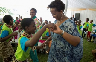 2015: A Year With Rwanda's First Lady